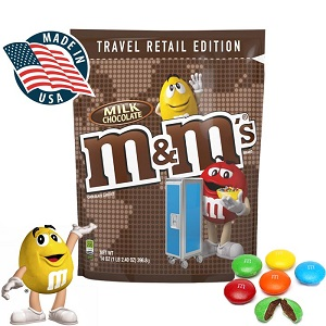 M&M Travel Retail Edition Chocolate : Bulk Sale