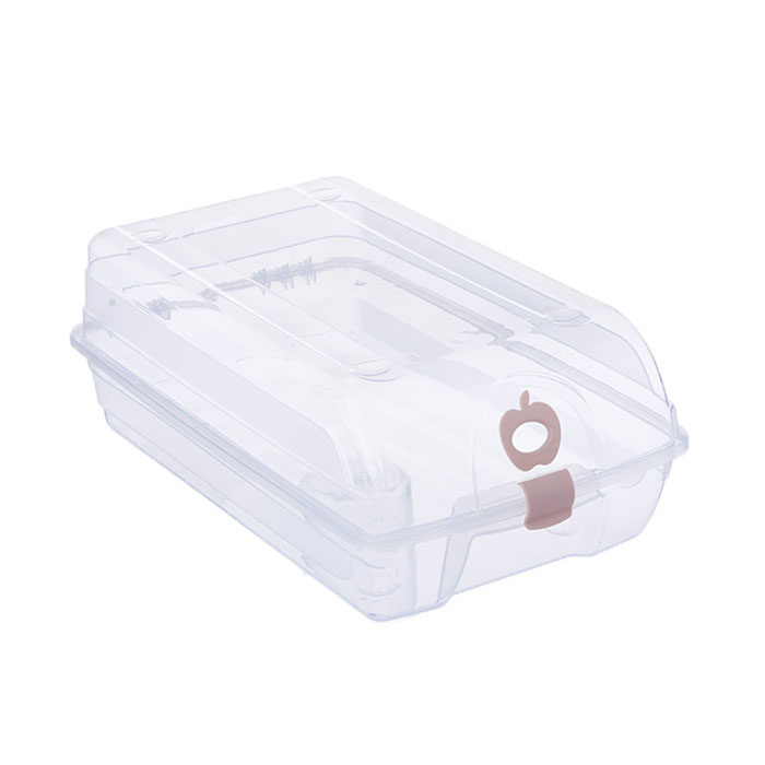 Shoes Stackable Box Travel Storage Clear Plastic Container Organiser