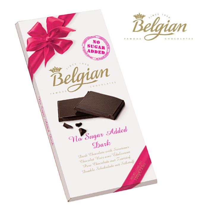 Belgian No Sugar Added Dark Chocolate 100G