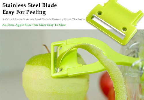 Smile Mom Apple Peeler & Slicer Machine