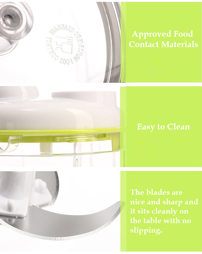 Smile Mom Manual Spin Multifuctional Food Processor