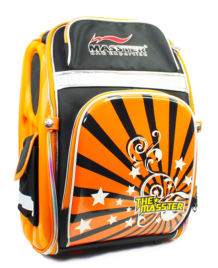 Masster 37674CB 3D Protection Spinal Panel Kids Student School Heavy Duty Backpack Bag