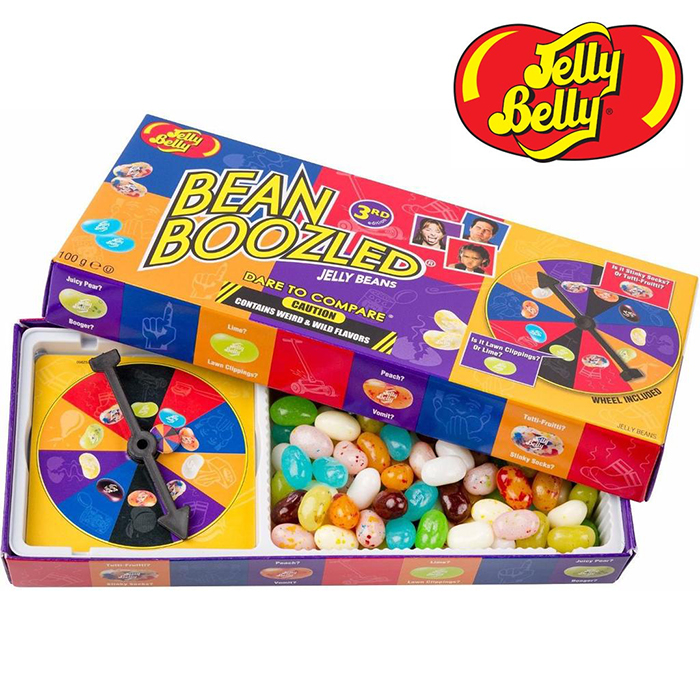 Jelly Belly Bean Boozled Candy Spinner Wheel Game Box 100g