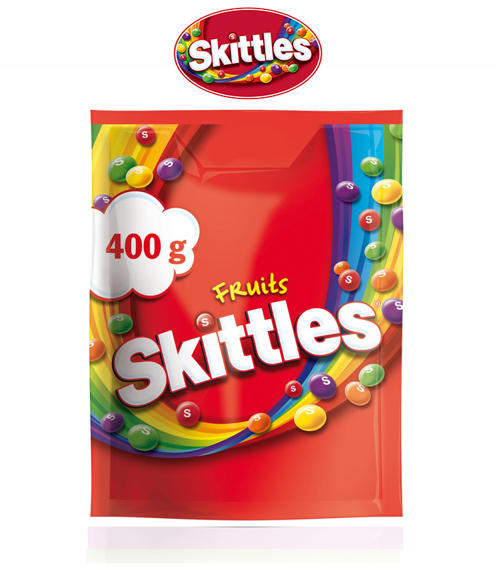 Skittles Fruits Candy 400g