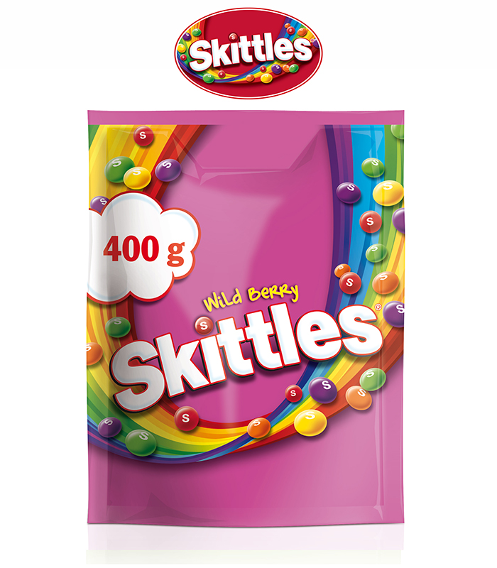 Skittles Wild Berry Candy 400g