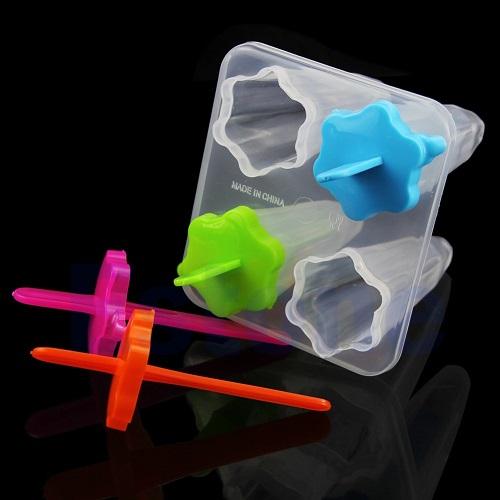 Star Homemade Ice Cream Mold Maker Box Container