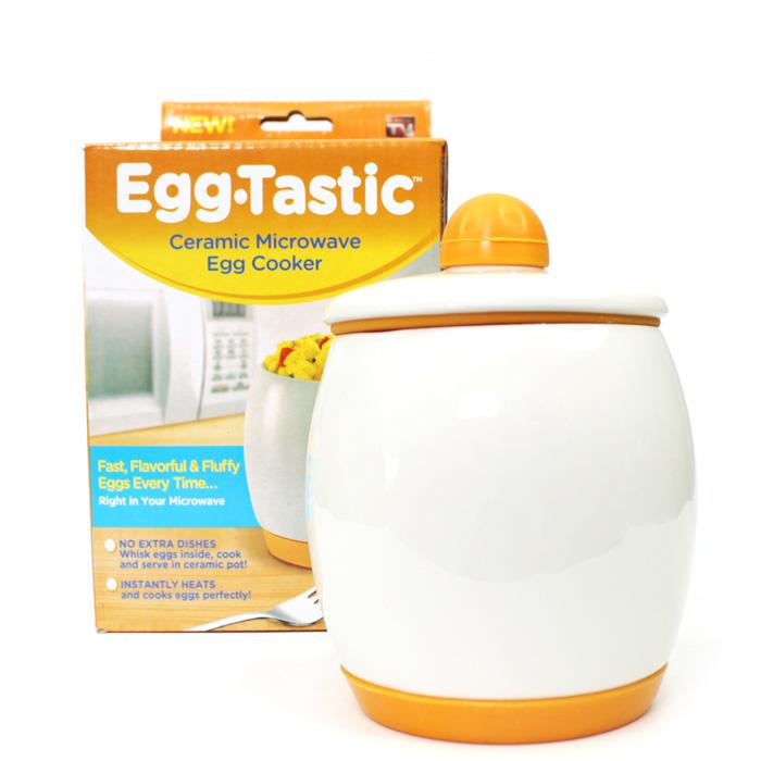 Egg Tastic Ceramic Microwave Egg Cooker