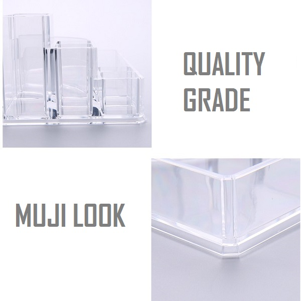 Acrylic Cosmetic Makeup Lipstick Holder Jewelry Case Organizer Code 8807-1