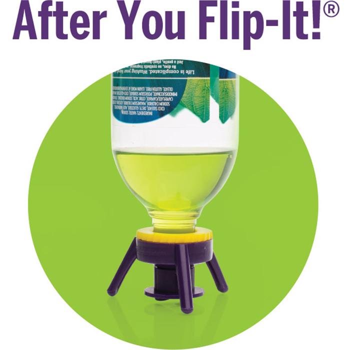 Flip It Cap Bottle Drain Emptying Kit Kitchen Tool