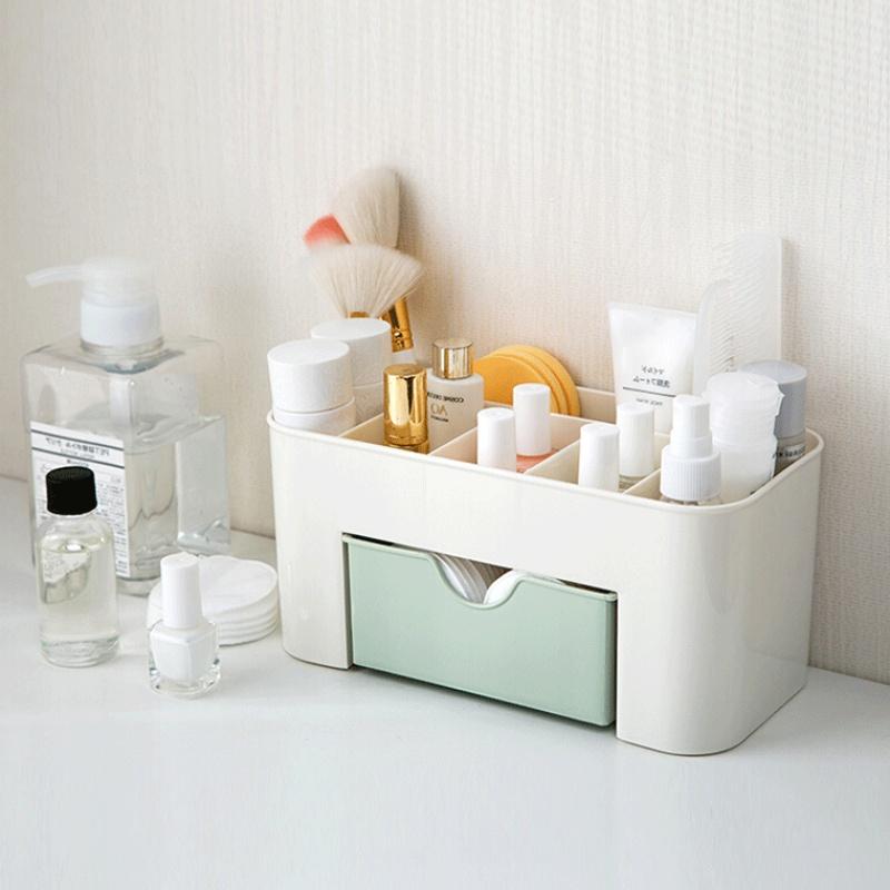 Drawer Cosmetics Storage Box Cosmetic Brush Ornament Box Desktop Jewelry Skincare Makeup Box