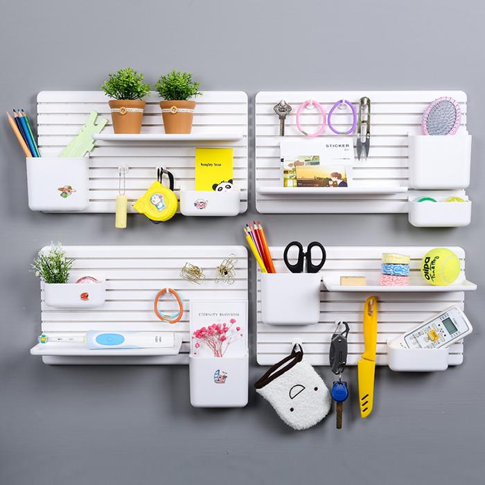 Multipurpose Shelves Wall Rack Home Holder Storage Hanger Decor Board
