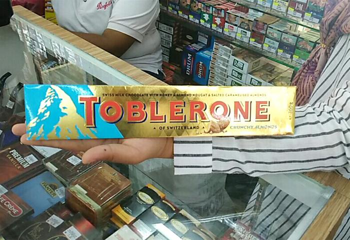 Toblerone Factory Tour