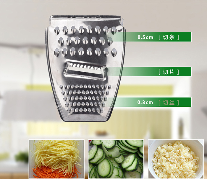 Multi-Function Vegetable Cutter Slicer Grater Kitchen Tools 3 in 1