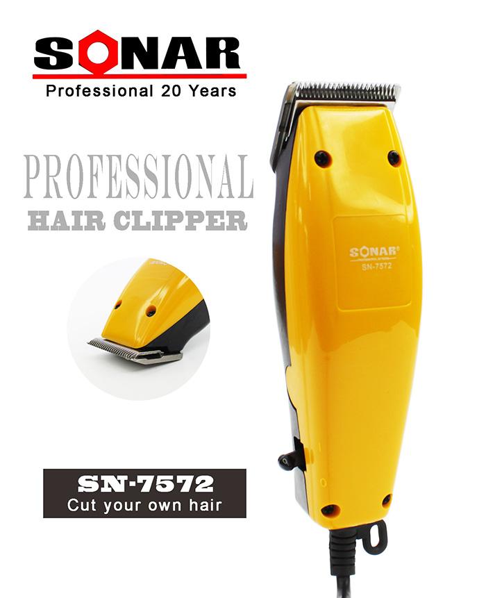Sonar Professional Electric Hair Trimmer Clipper Cutting Machine SN-7572