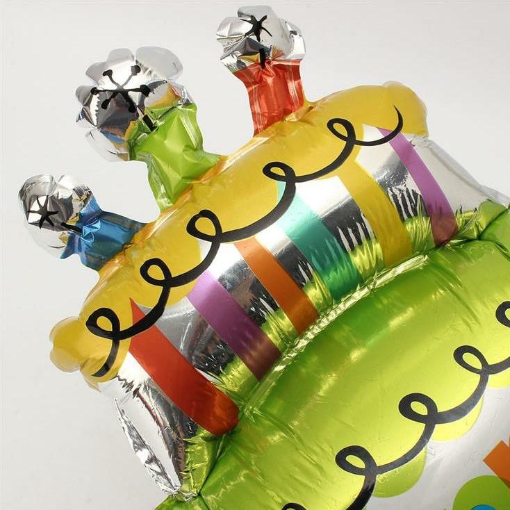 Large Birthday Cake Celebration Instagram Party Foil Balloon