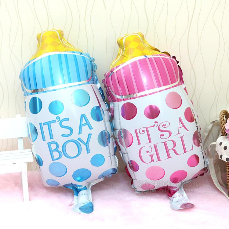 Large Milk Bottle New Born Baby Birthday Celebration Instagram Full Moon Party Foil Balloon