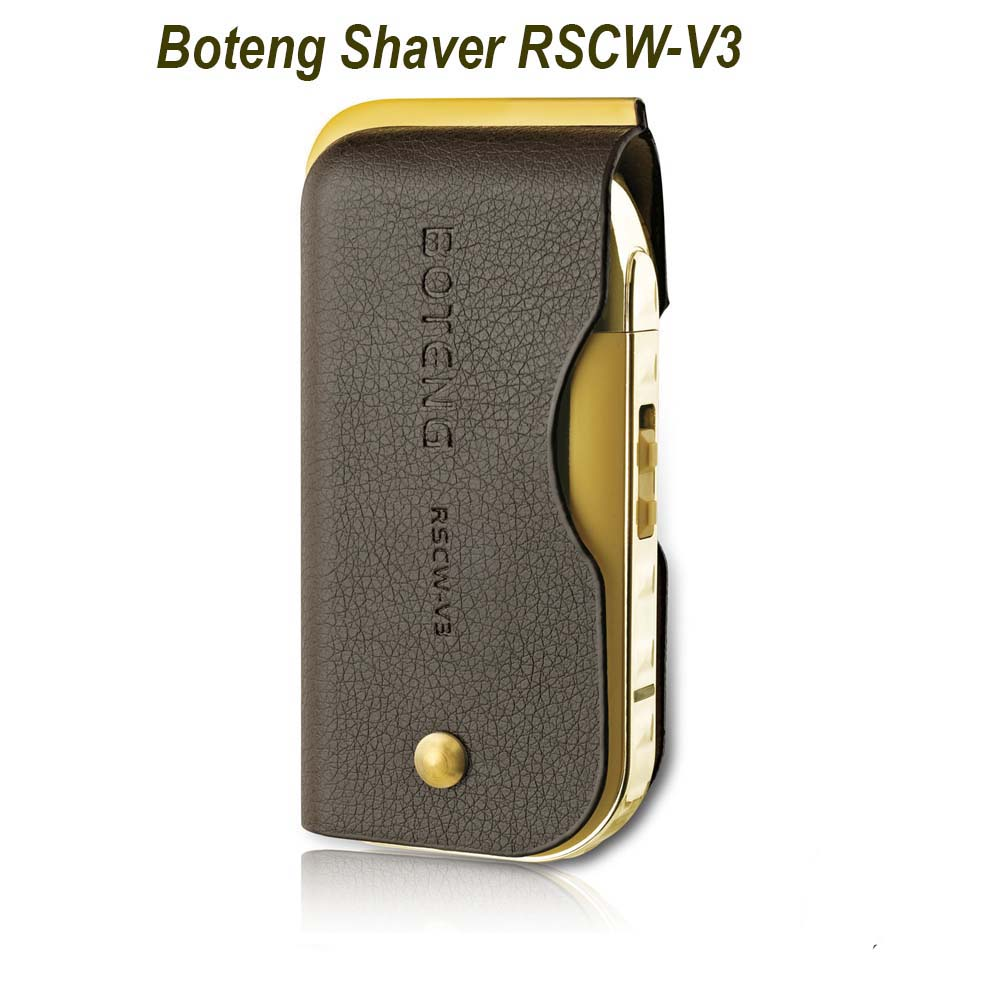 Boteng Rechargeable Electric Shaver Mirror Pocket Machine RSCW-V3. ‹ ›