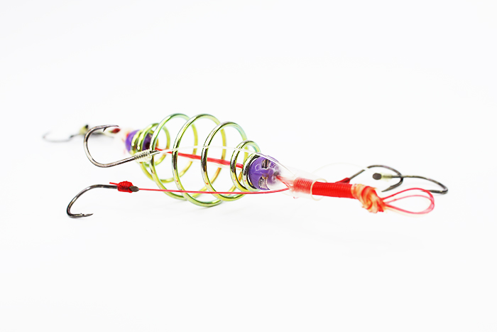 Spider King 2 Layer Explosion Bomb Fishing Hook BH932