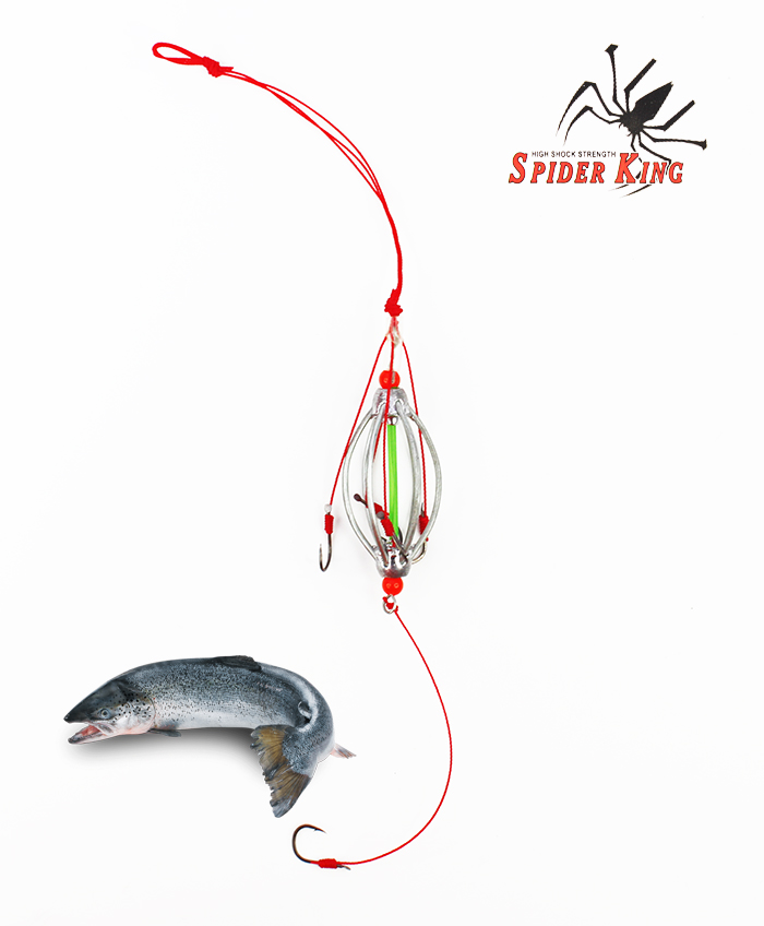 Spider King 1 Layer Explosion Bomb Fishing Hook BH961