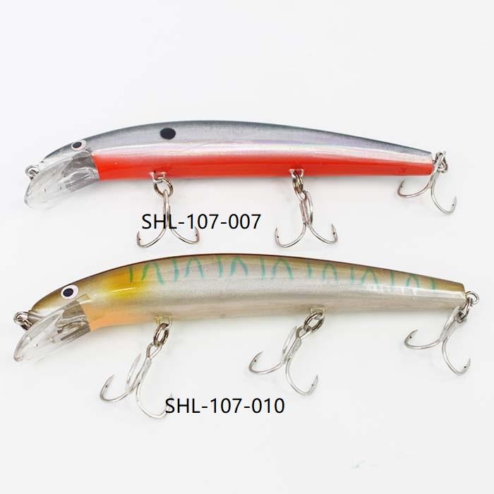 Starlit Hard Lure Suspending Series Triple Hooks SHL-107 125mm 18g