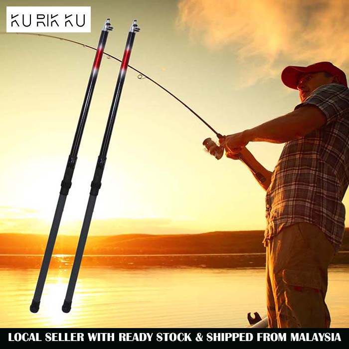 SM 5 Meter Telescopic Rod with Reel Seat And Guide Fishing Rod