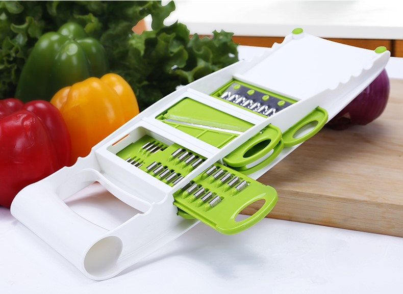 5 In 1 Multi Function Fruits & Vegetables Planing Slicer Shredder