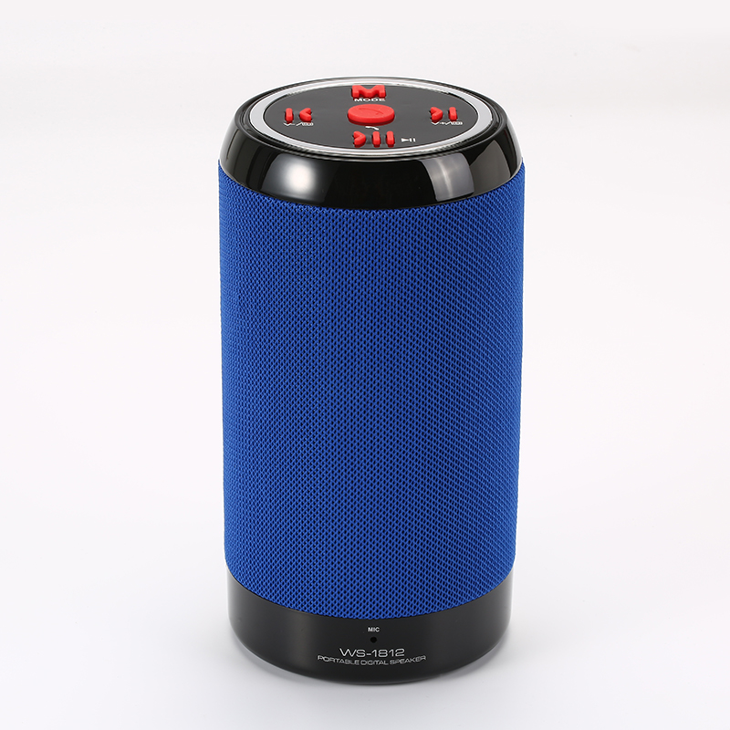Wster Portable Wireless Bluetooth Stereo Super Bass Speaker WS-1812