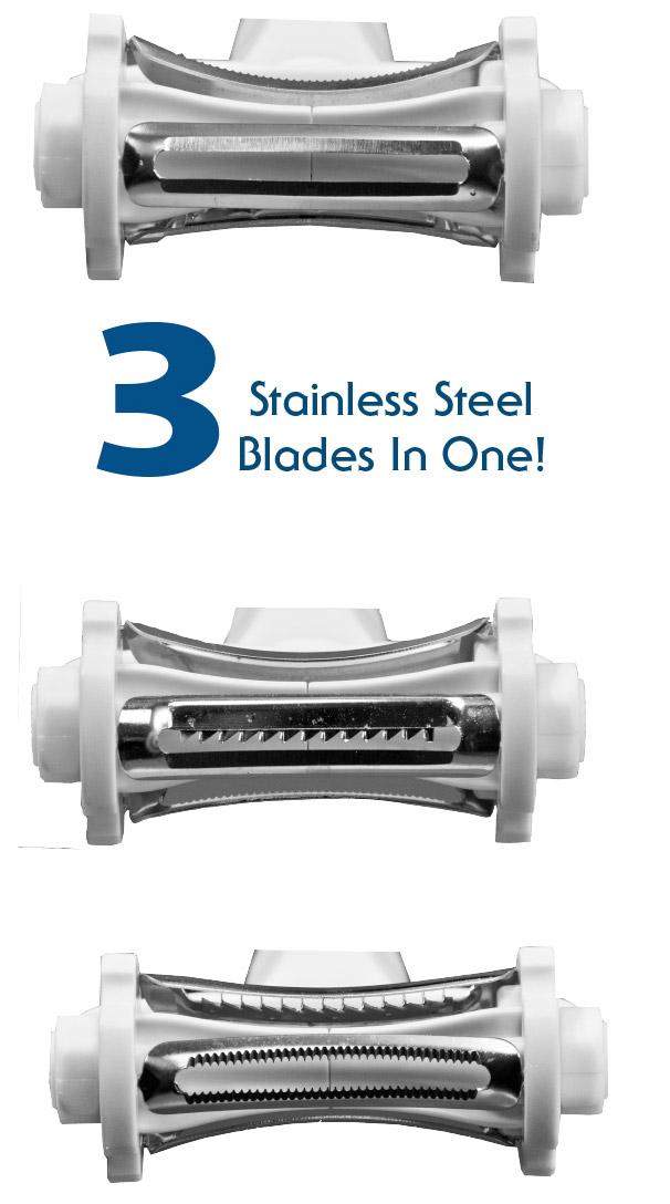 3 In 1 Click 'N Peel Shave Slicer