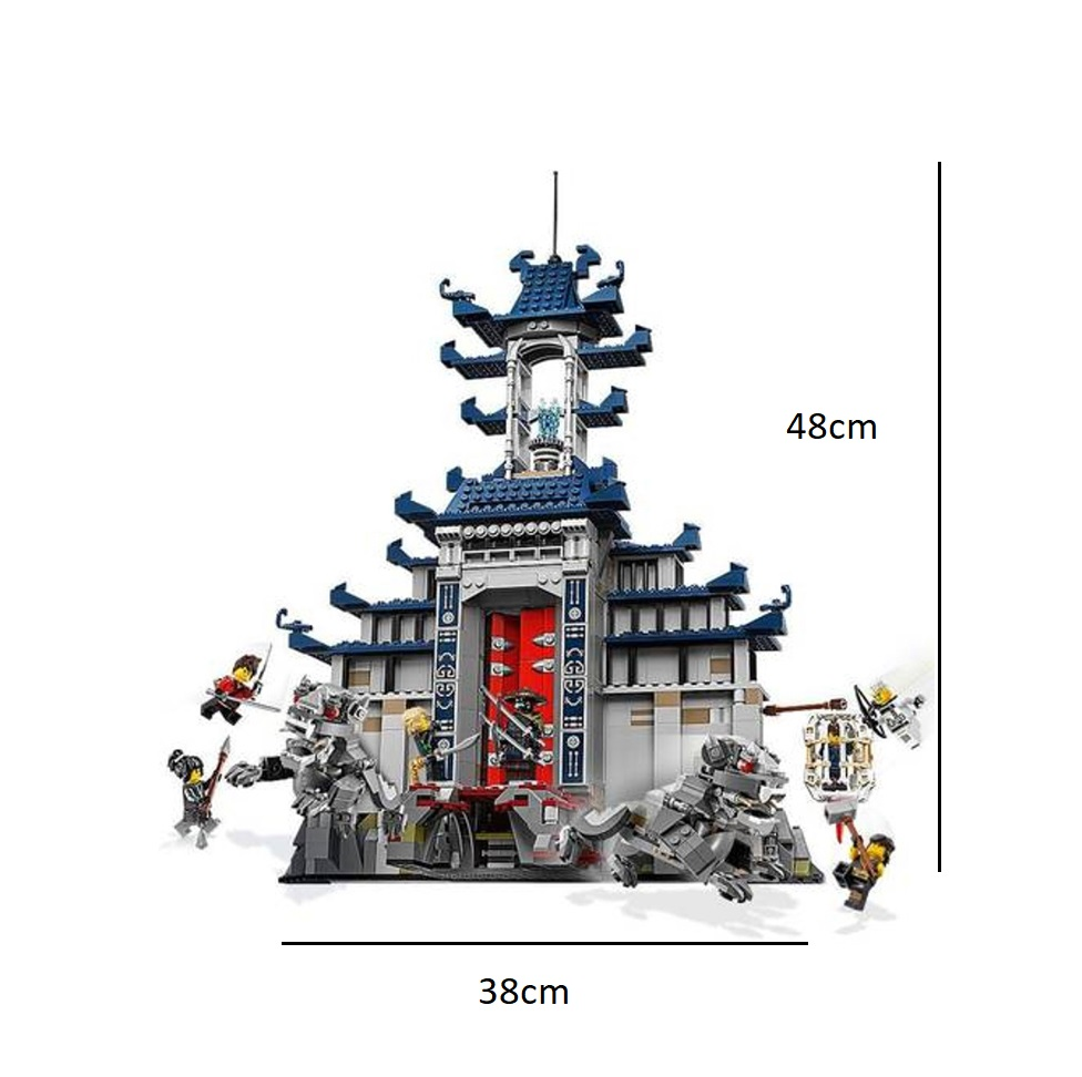 The S SY959 Ninja Movie Temple of The Ultimate Weapon Building Block