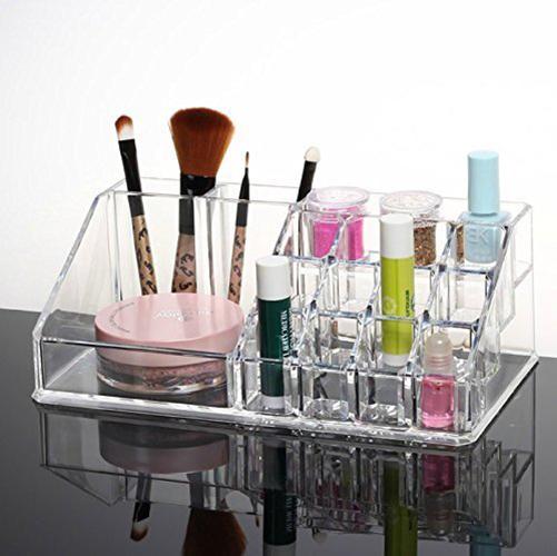 Acrylic Cosmetic Makeup Lipstick Holder Jewelry Case Organizer Code 8807-2