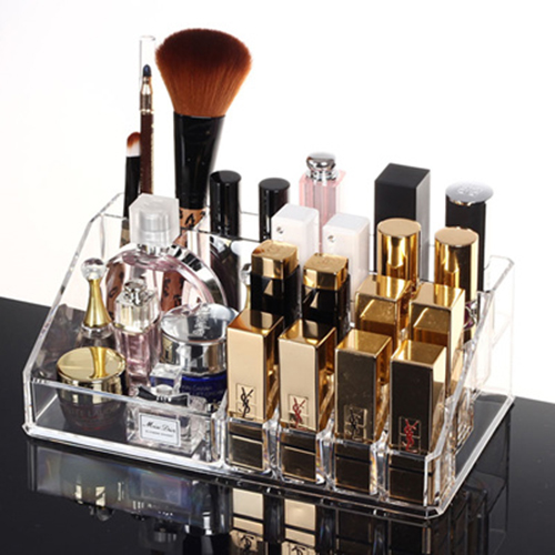 Acrylic Cosmetic Makeup Lipstick Holder Jewelry Case Organizer Code 8807-2