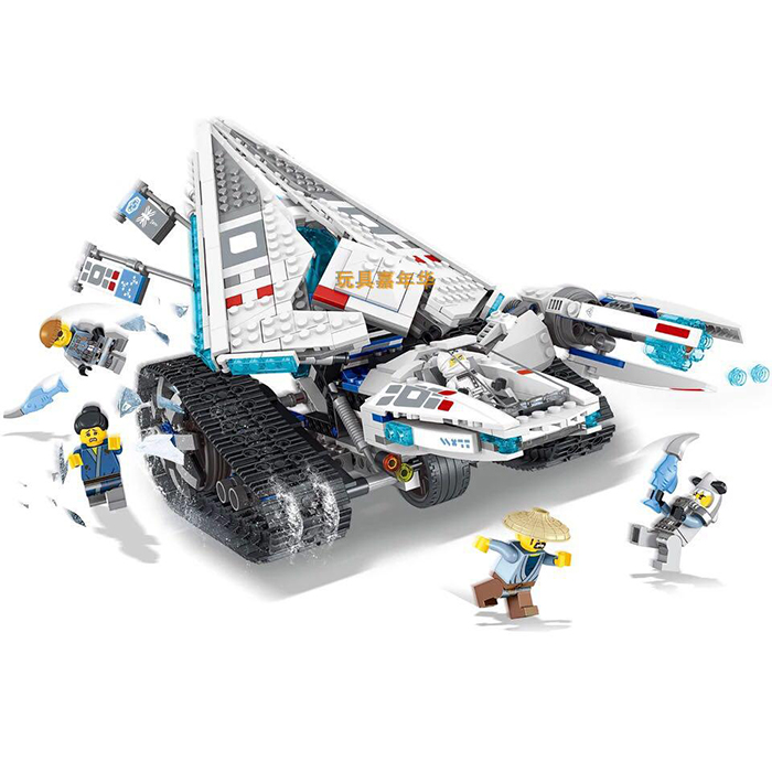 The S SY 958 Ninjago Movie Ice Tank Building Block Set