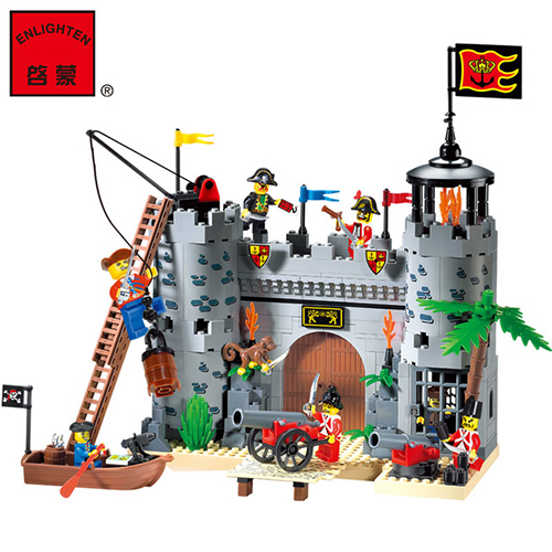 Enlighten 310 Pirates Educational Building Blocks Toys