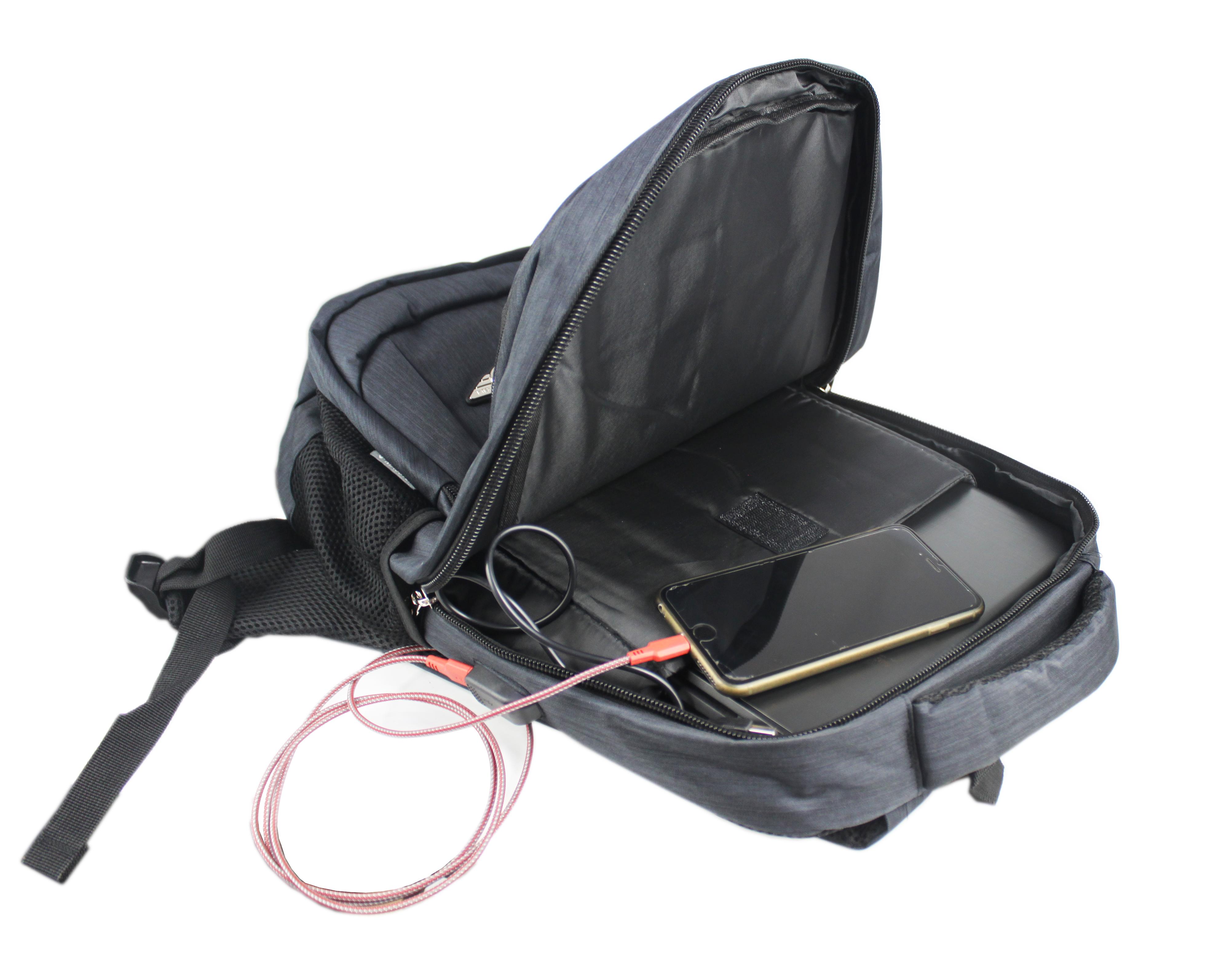 Masster 55166LB USB Charging Laptop/ Schoolbag/ Travel/ Leisure Back Pack