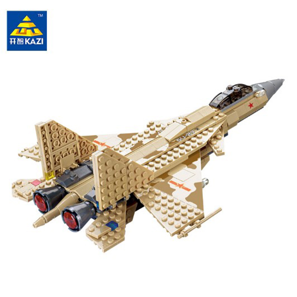 Kazi KY84021 Open Chi Military Series SU 27 Assembled Building Block Sets
