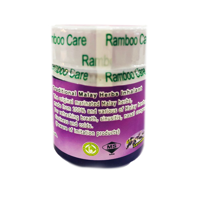 Ramboo Care Tradisional Lavender Herbs Sinus Aroma Therapy Inhalant