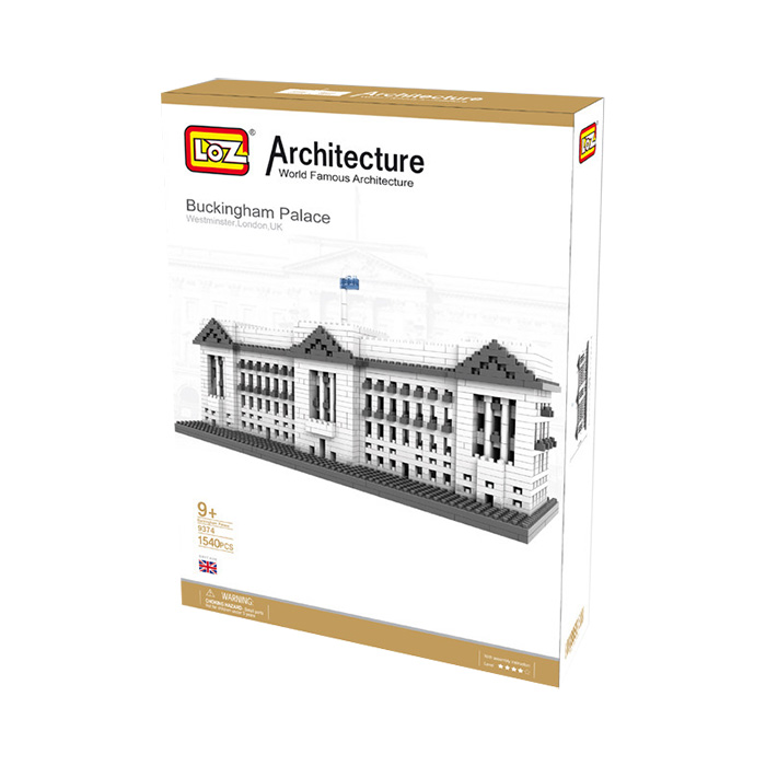 LOZ World Famous Architecture Buckingham Palace Westminster London UK Micro Building Block 1540pcs