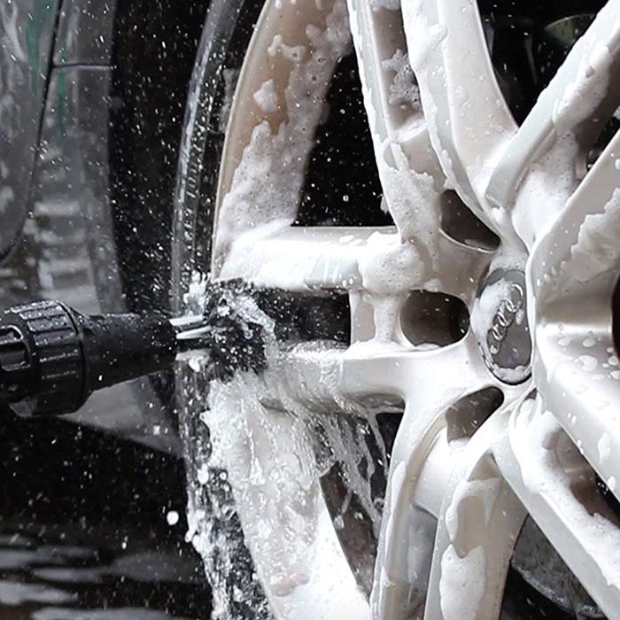 Car Auto Brush Hero Buddy Car Wheel Tire Rims Scrubbing Cleaning Brush Tool