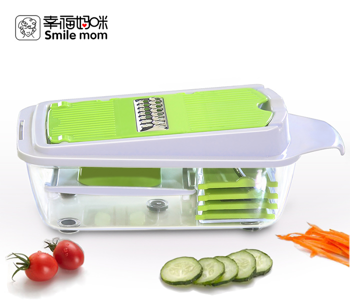 Smile Mom 5 In 1 Multi Slicer Vegetable Fruit Cutter Kitchen Tool B413-C-01