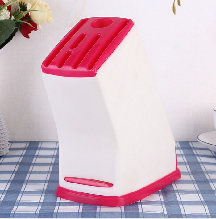 Plastic Knife Storage Rack Holder Knives Fork Storage Rack