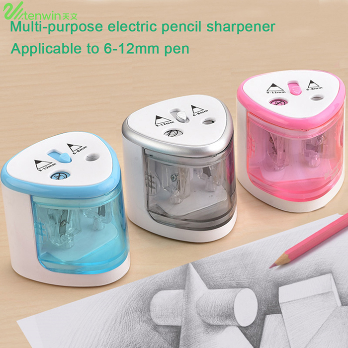 Tenwin Automatic Electric Pencil Sharpener 8004 Student Home School Tool
