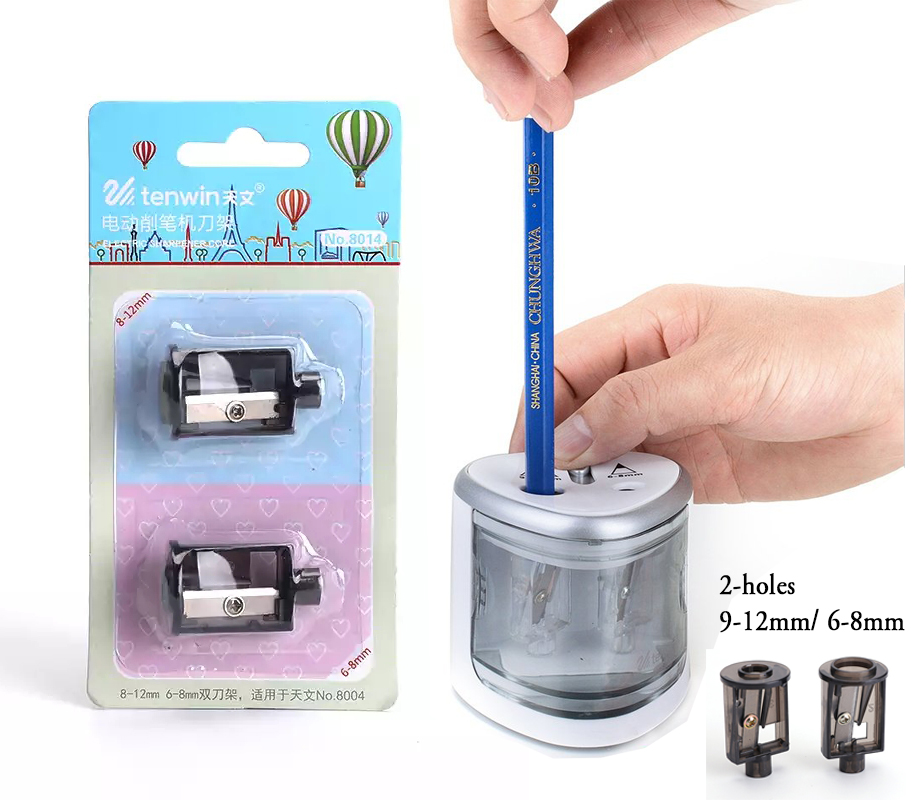 Tenwin Automatic Electric Pencil Sharpener Replacement Blade Refills (2pcs)