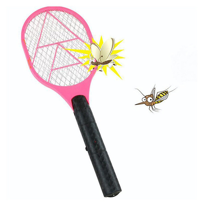 Electric Anti Mosquito Fly Swatter Bug Zapper Killers Tool Racket Home