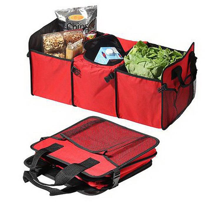 EZ Trunk Car Boot Compartment Organizer & Cooler Bag