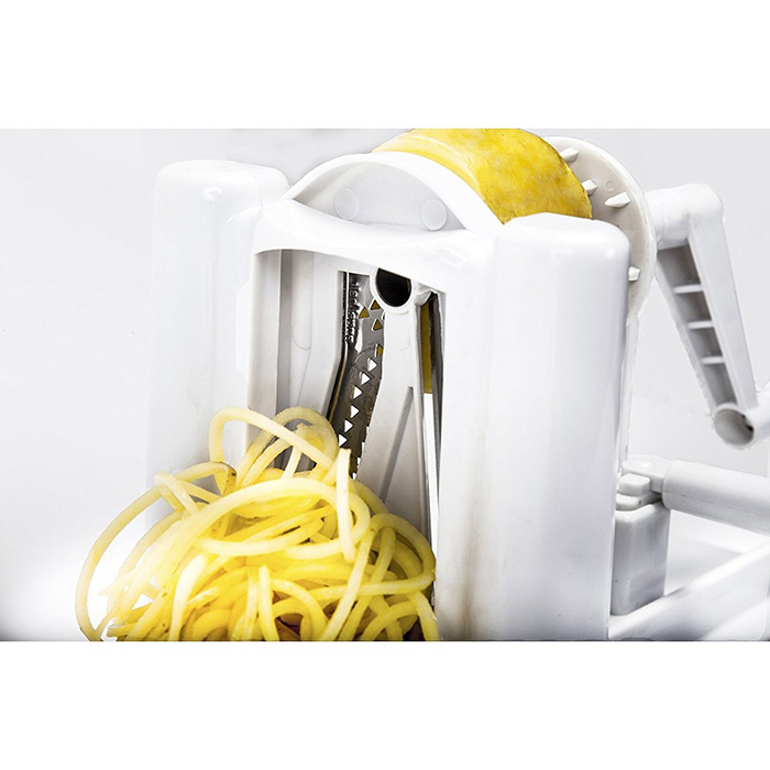 3 in 1 Vegetable Slicer Spiralizer Cutter Chopper Kitchen Knife Peeler Cooking Tool