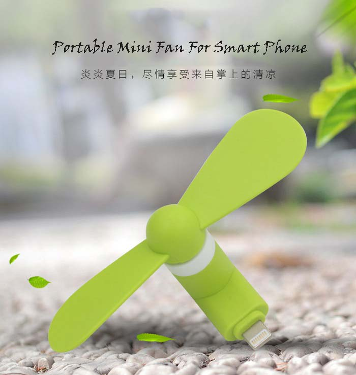 Portable Mini Fan For Smart Phone-Apple