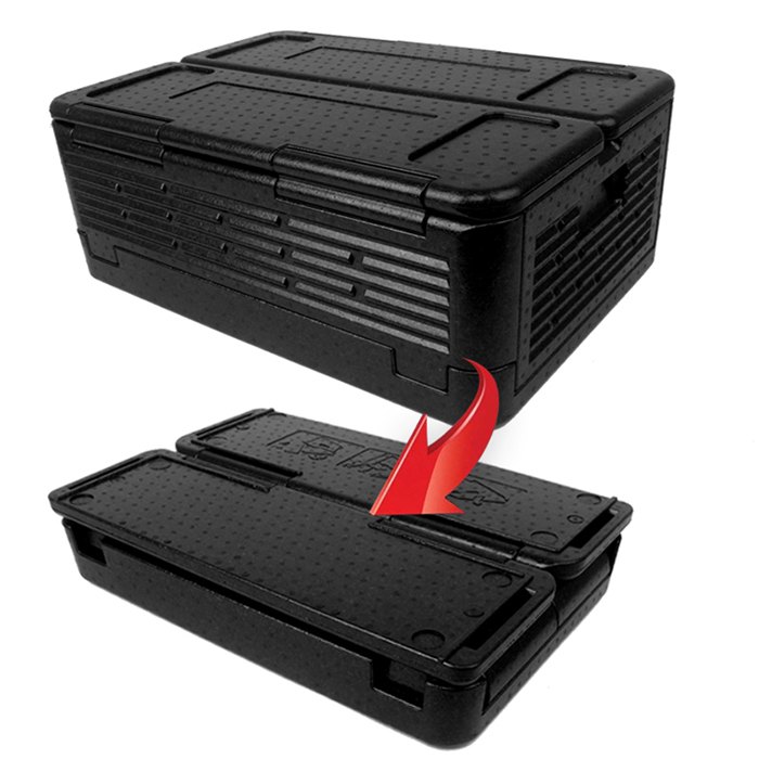 Chill Chest Cooler Foldable Ice Less Insulated Portable