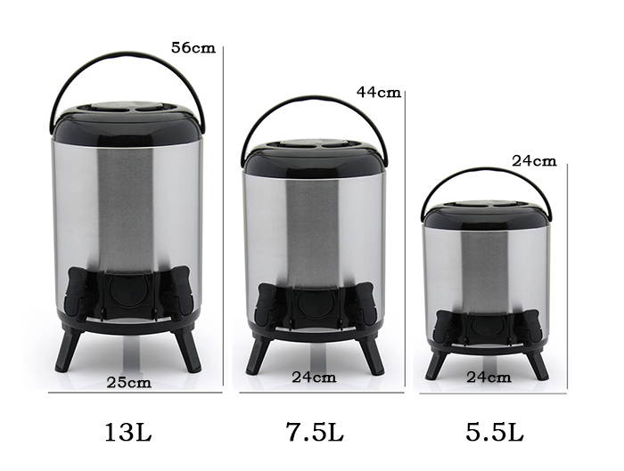 Portable Stainless Steel Cool & Warm Water Drinking BBQ Camping Dispenser