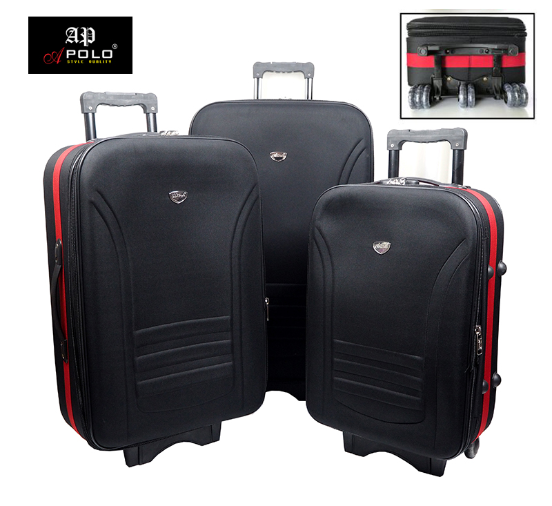 """Apolo MD-237 Expandable Supper Light Weight Travel Luggage Trolley 20""""/ 24""""/ 28"""""""