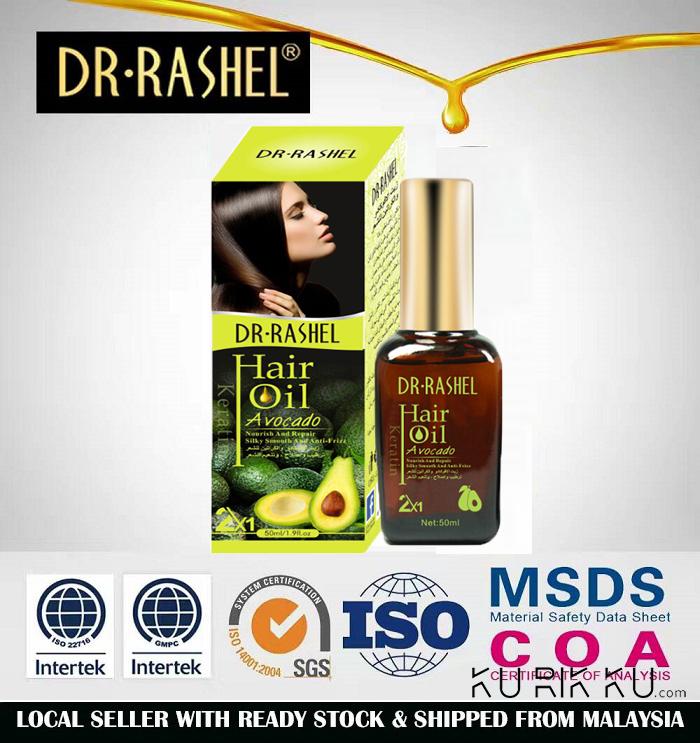 Dr-Rashel Dubai Hair Split End Treatment Repair Damege Oil Avocado With Keratin